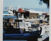 SALE - ACEO Art Photography - Travel to Crete - Fishing Boats 001