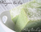 Lime and Sea Salt Natural Soap - Margarita Spa - Cold Process