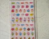 Kawaii Lemon Co. Sticker sheet Happy Sweets Free Shipping