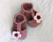 Download Now - CROCHET PATTERN Strappy Baby Sandals - Pattern PDF