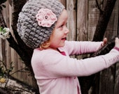 CROCHET PATTERN Gracie Hat - Baby to Adult - Pattern PDF