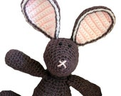 CROCHET PATTERN Floppy Bunny - Amigurumi Rabbit - Pattern PDF