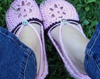 Download Now - CROCHET PATTERN Summer Slipper Sandals - Pattern PDF