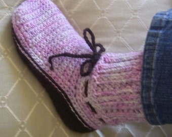 Download Now - CROCHET PATTERN Ladies Knit-Look Sweater Boots - Pattern PDF