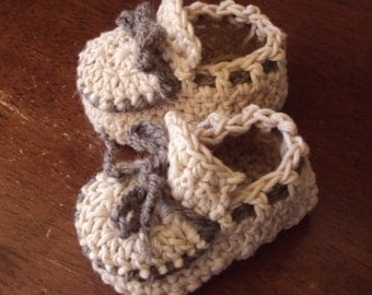 Download Now - CROCHET PATTERN Baby Moccasins - Pattern PDF