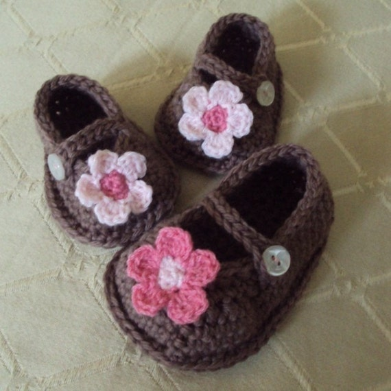 Download Now - CROCHET PATTERN Boutique Mary Janes - Pattern PDF