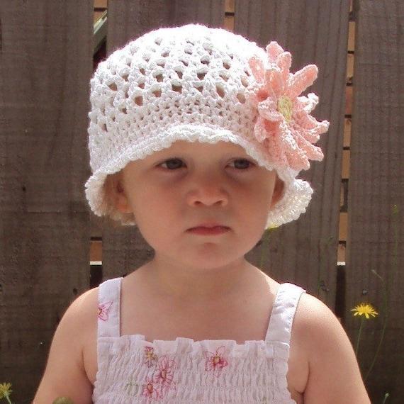 Upsy Daisy Knitting Pattern : Download Now - CROCHET PATTERN Upsy Daisy Beanie - Baby and Youth - Pattern P...