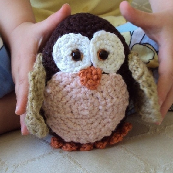 Download Now - CROCHET PATTERN Baby Morepork Owl - Pattern PDF