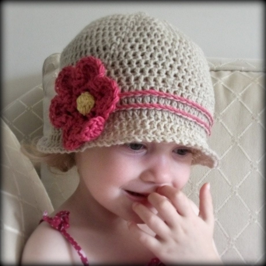 Crochet Hat Patterns Child : Download Now CROCHET PATTERN Cuteness Cloche Hat Baby to