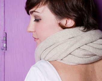 Cashmere infinity scarf 60x180
