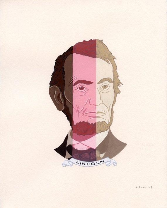 Neapolitan Abe -Archival Fine Art Print 8x10