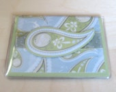 Hand-made Business Card Case (Paisley Pattern) FREE SHIPPING