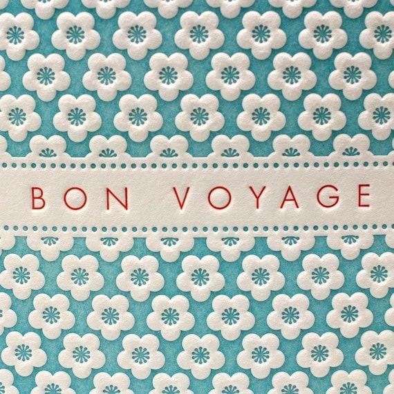 Cherry Blossom Bon Voyage in Blue