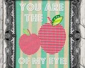Apple of my Eye  //  8x10 Print