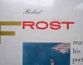 1956 /  Robert Frost Poetry Reading /n  LP / UNOPENED