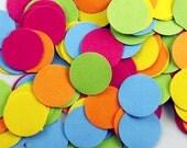 Funfetti Paper Large Confetti  Dots in  South Beach Mix