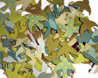 Confetti  Doves Die Cut Birds  in  Sola