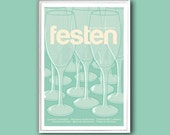 Festen, or The Celebration, 12x18 inches movie poster