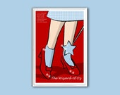 Movie poster The Wizard of Oz 12x18 inches print