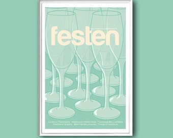 Festen, or The Celebration, movie poster in various sizes