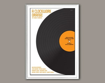 A Clockwork Orange movie poster in various sizes