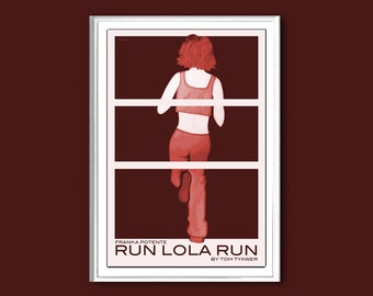 Run Lola Run 12x18 inches movie poster