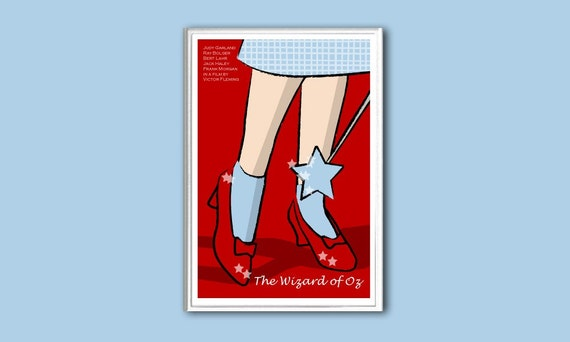 Movie poster The Wizard of Oz print in various sizes