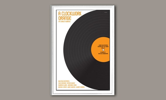 A Clockwork Orange 12x18 inches movie poster