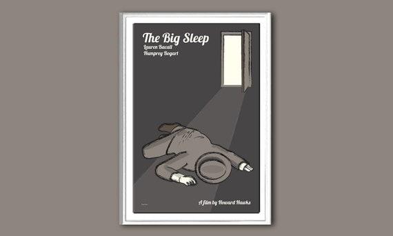 Film poster The Big Sleep 12x18 inches print