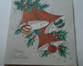 Fifties Christmas Card used