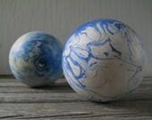 Balls Vintage Candle Pin Bowling Balls Pair