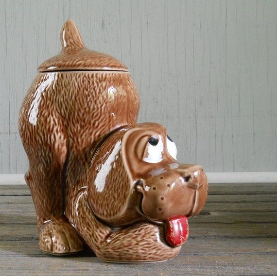 Cookie Jar McCoy Thinking Dog Cookie Jar