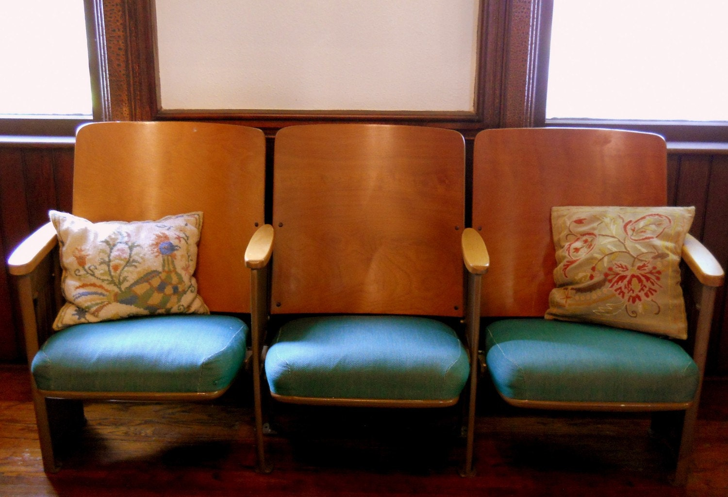 Reserved for charnibp vintage theater chairs by lisabretrostyle2