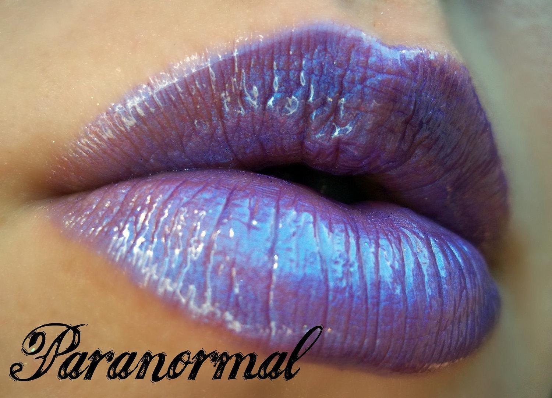 Kiss My Lips Paranormal Lip Gloss High Gloss Deep Violet