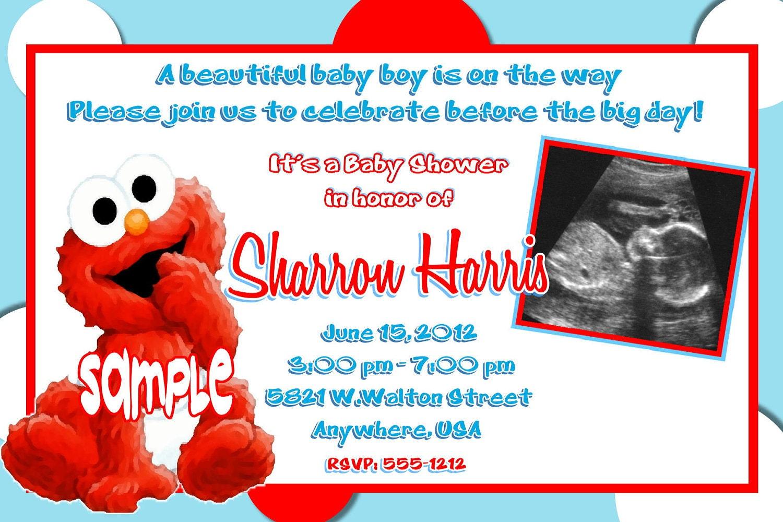 Sesame Street Baby Shower Invitations Gangcraft Net