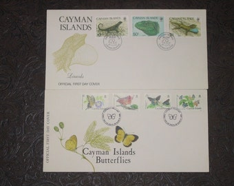Stamps from Cayman Islands