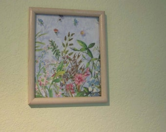 Flower Field Magnetic Picture