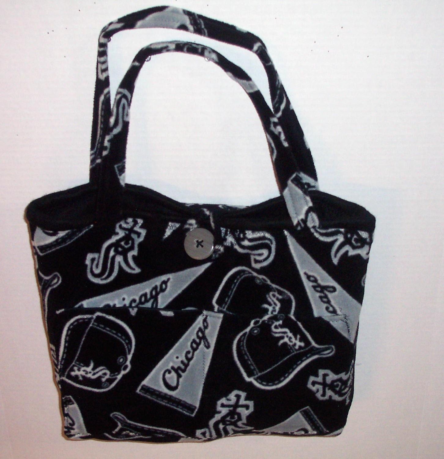 San Diego Chargers Diaper Bag: White Sox Diaper Bag
