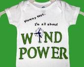 Wind Power - Funny Onesie