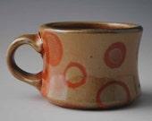 Small Earthy Orange Mug No. 3