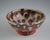Small Spotted Shino Bowl