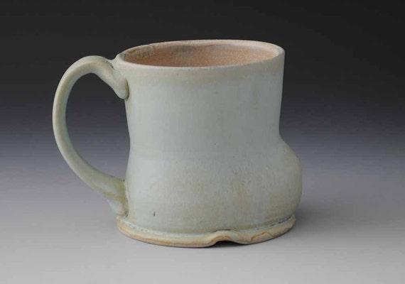 Great Big Green Stoneware Mug