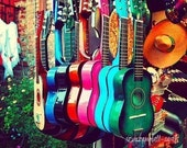 las guitarras - los angeles photograph - 8x10 fine art print