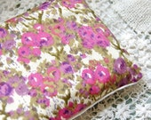 Organic Flax Seed and Lavender Dream Pillow: Liberty of London and Linen in Orchid