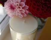Vintage Glass Tuberose Soy Candle -- Luxurious Scent