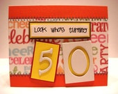Look Who's Turning 50- Keepsake Quality Card