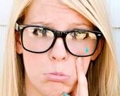 Nerdy Teardrop Glasses
