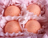 Single Bubbling Bath Bomb - Apricot and Fig