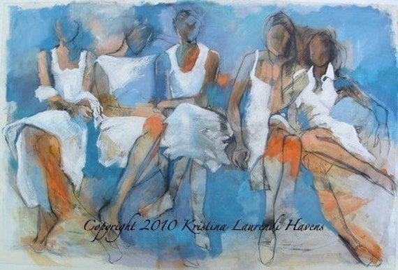 Five Friends in White Dresses - Large Fine Art Print - It's Not About You
