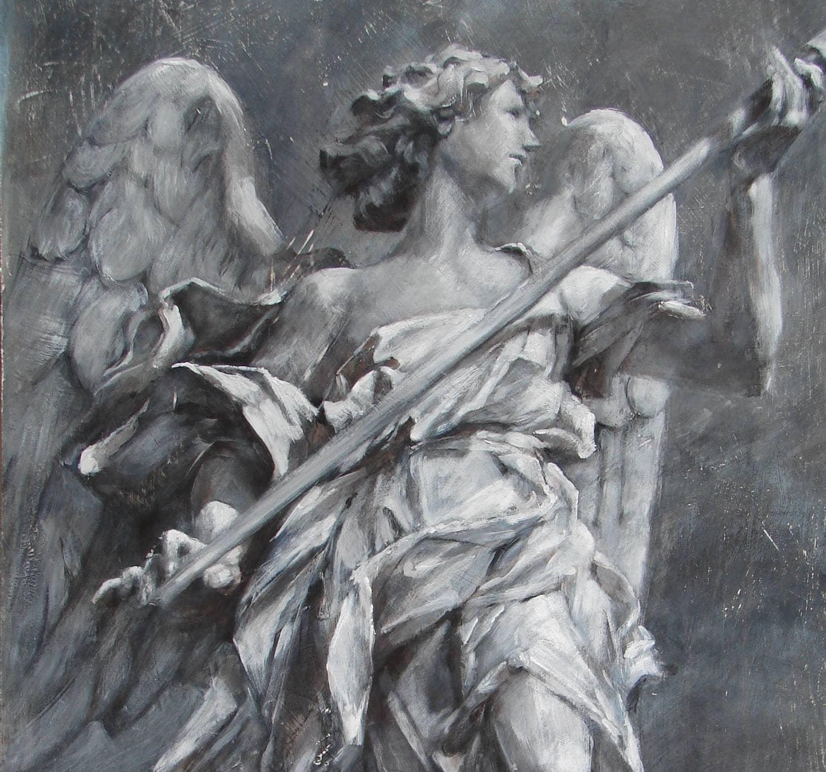 Renaissance Angel Painting Angels Sculpture Painting